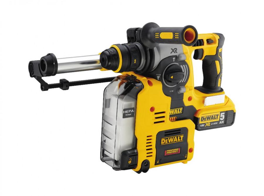 Rotary hammer DCH275P2, brushless, SDS+, 18V / 5,0Ah