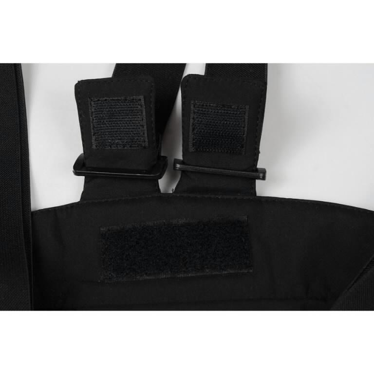 Žieminės softshell kelnės Barnabi, juoda, su  petnešom 2XL, Pesso