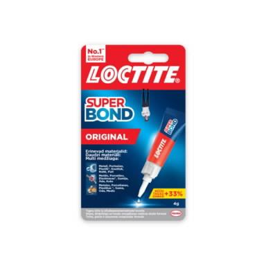 Kiirliim Super Bond 4g, Loctite