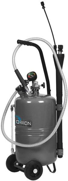 24L waste oil suction unit, grey, Orion