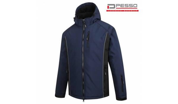 Žieminė  softshell striukė Otava, tamsiai mėlyna XS, Pesso