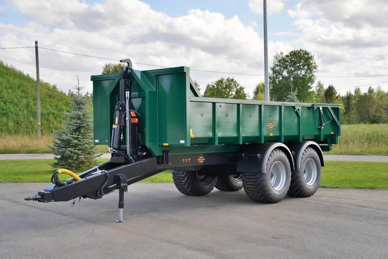 Multilift konteinerhaagis Palmse Trailer ML117S-SB, PALMSE