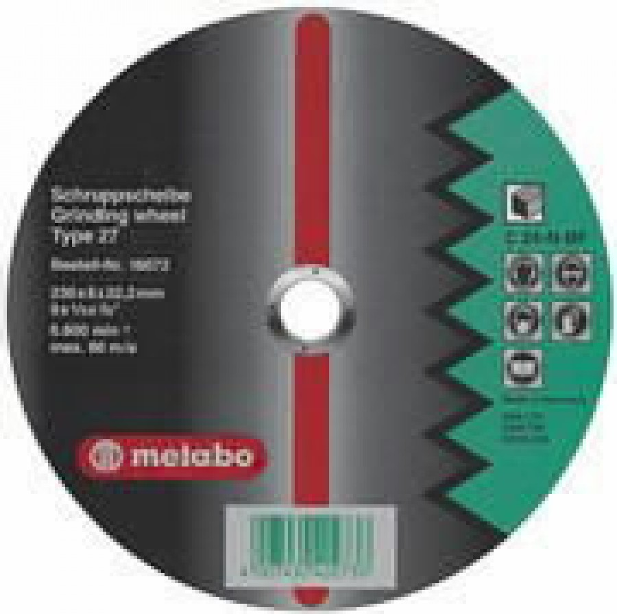 Slīpdisks akmenim 125x6mm Flexiamant Super, Metabo