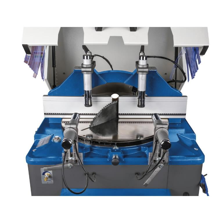 Tõusva kettaga alumiinimijärkamissaag ULMS 500, Metallkraft