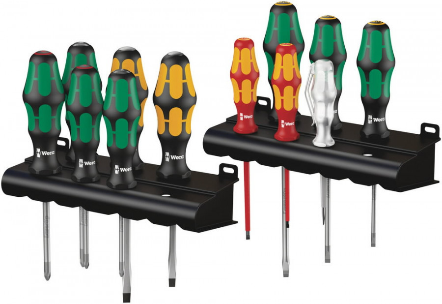 Screwdriver set for all-round applications, Wera