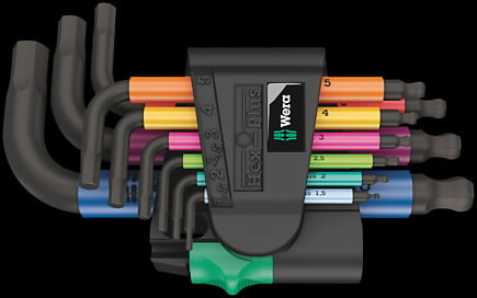 L-let HEX-Plus 950/9 multicolor, Wera