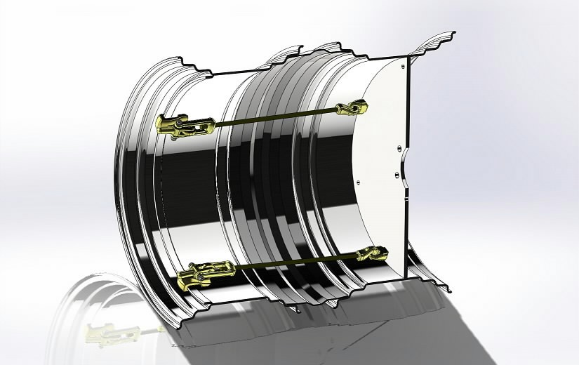 Raju double wheel rim