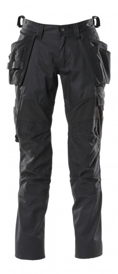 Kelnės  ACCELERATE stretch, juoda, holster pockets 82C56, Mascot