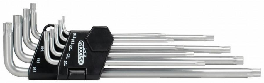 L-viiskant tampriga kmpl TS10-TS50 9osa KST, KS Tools