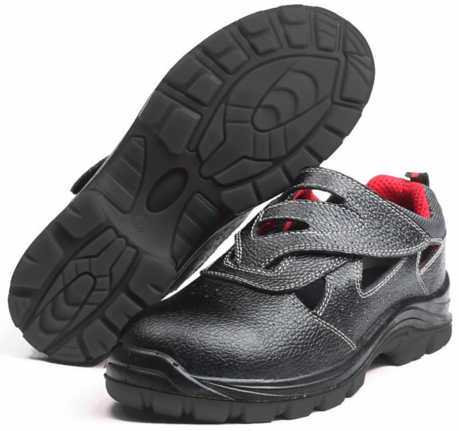 Apsauginiai sandalai Chester S1P, juoda 41, Pesso