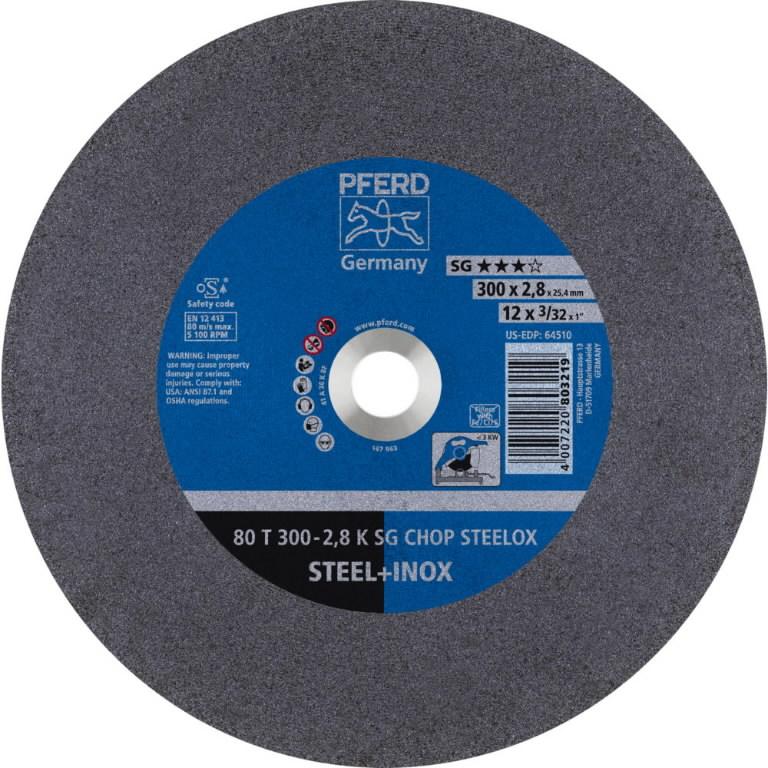 Lõikeketas 300x2,8/25,4mm K SG CHOP STEELOX, Pferd