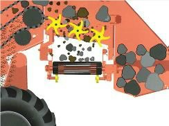Separator  CS150 Combi Web, Grimme