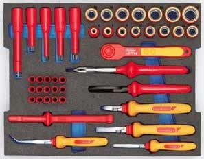 Tööriistakomplekt HYBRID, 53-osa, Gedore