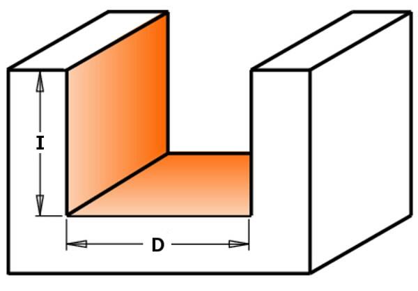 HW HINGE RECESSER BIT S=8  D=18X12.5X57.15, CMT