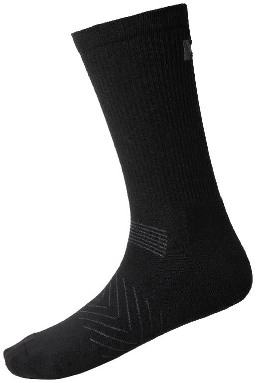 Socks Manchester, black, 3 pair pack 36-38, Helly Hansen WorkWear