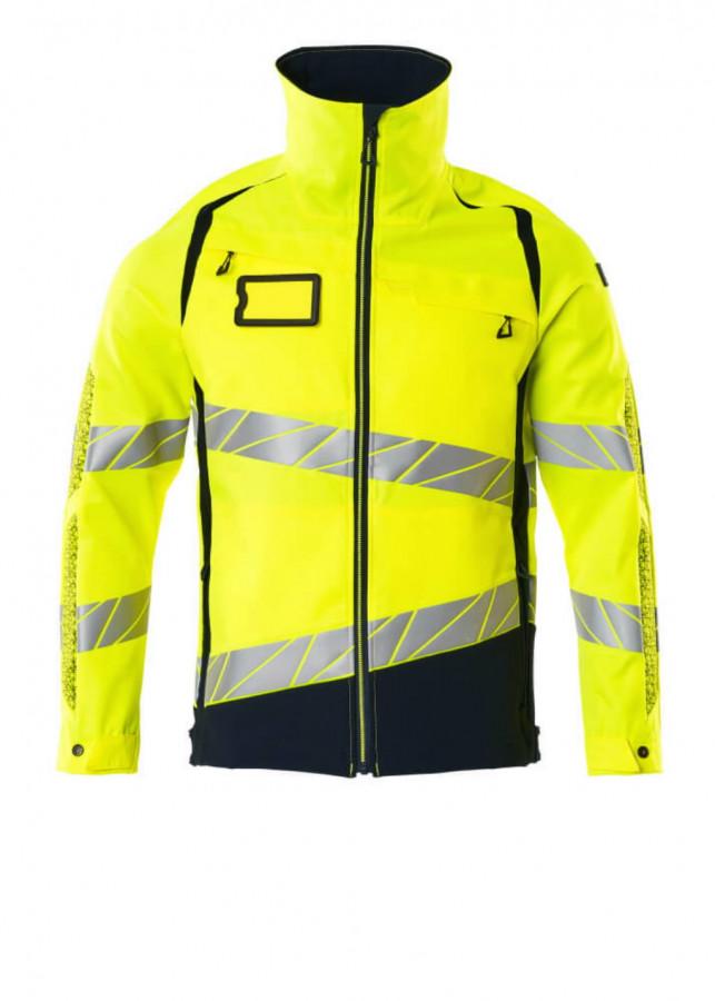 Tööjakk Accelerate Safe strets osad, kõrgnähtav CL2, kollane XL, Mascot