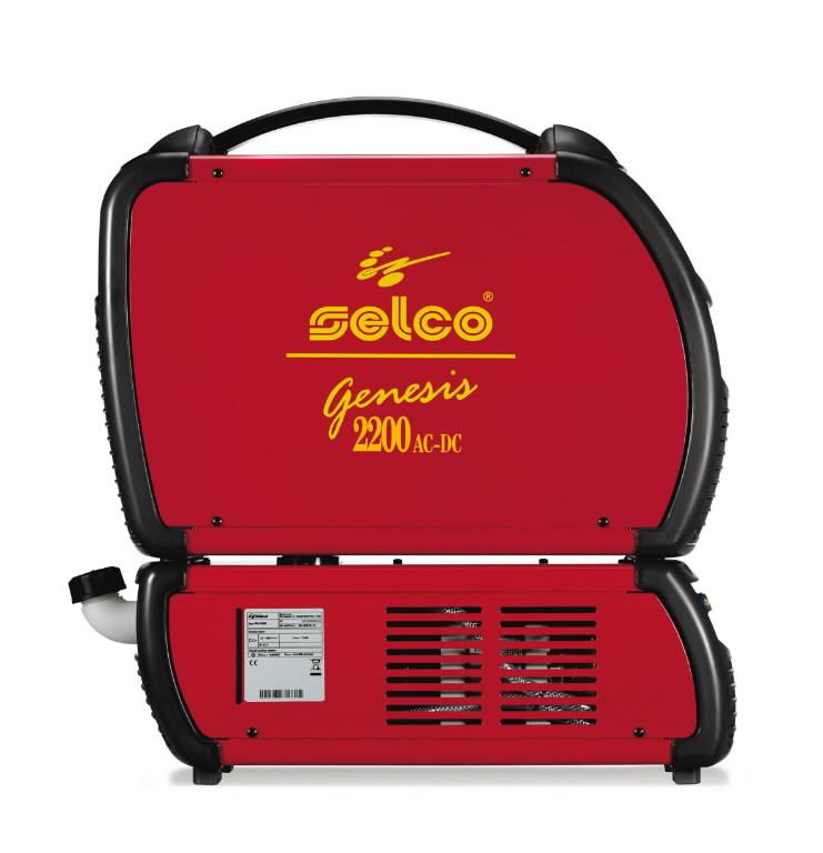 TIG Inverter GENESIS 2200 ACDC EasyArc Selco ACDC Welding Equipment