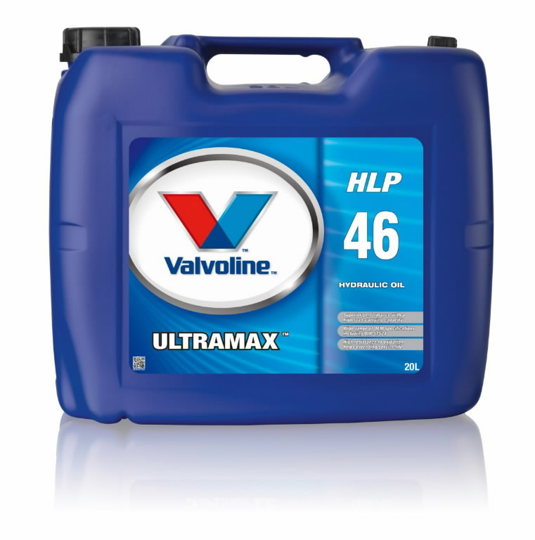 ultramax hlp 46 hydraulic oil 20l valvoline hydraulic. Black Bedroom Furniture Sets. Home Design Ideas