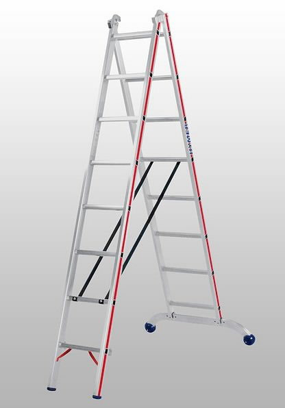 Universal Jacks On Ladders : Universal ladder hymer leaning ladders