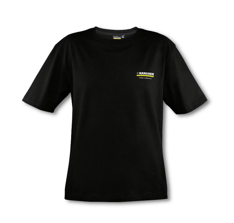 Meeste T- särk , suurus L, must, Kärcher