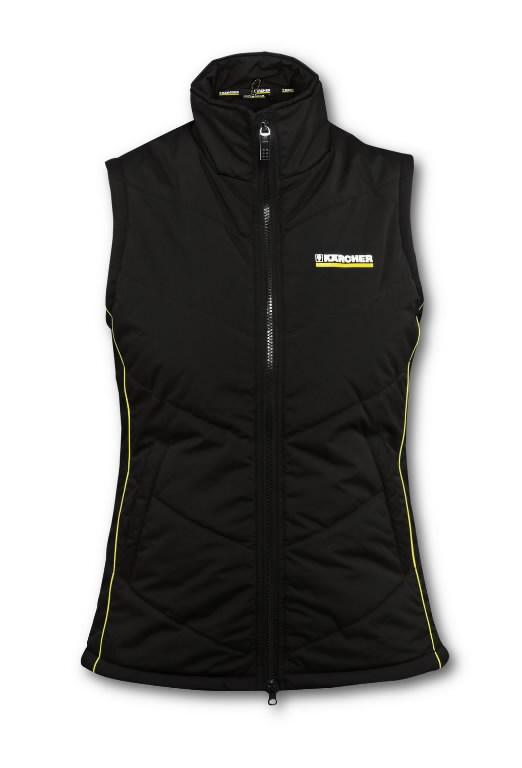 Women vest size S black, Kärcher
