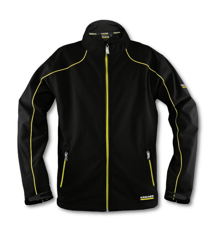 Men's Softshell jacket size XXXL black, Kärcher