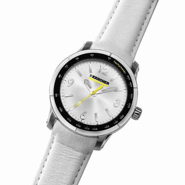 Ladies watch white yellow, Kärcher
