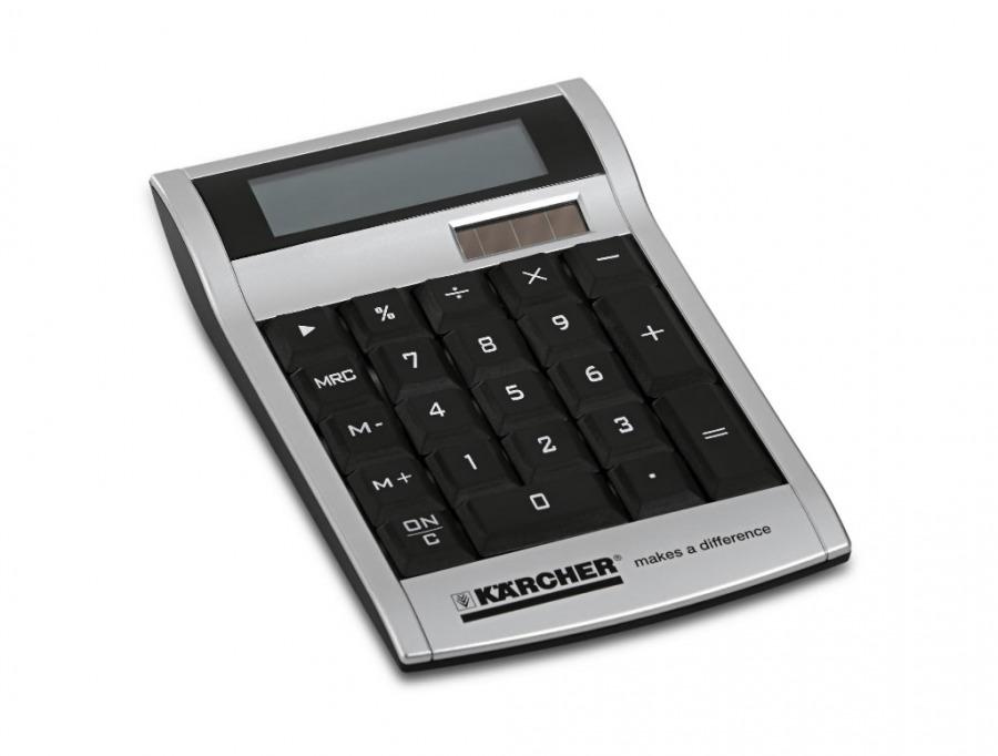 Solar powered calculators Yacuiba, Kärcher