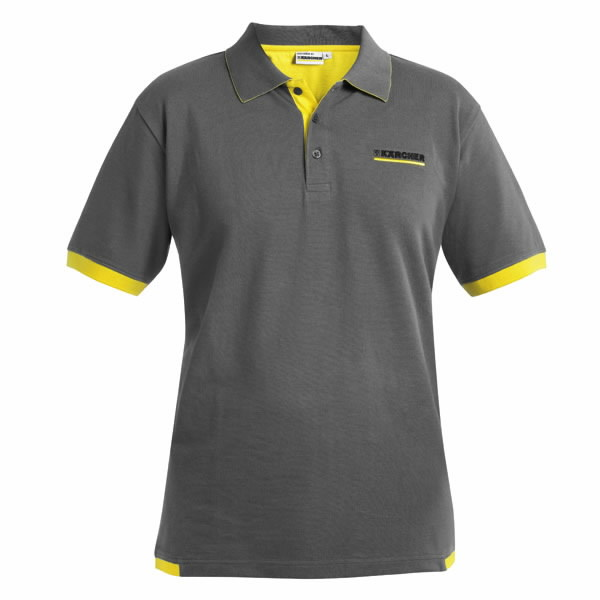 Polo Shirt Anthracite XXXL, Kärcher