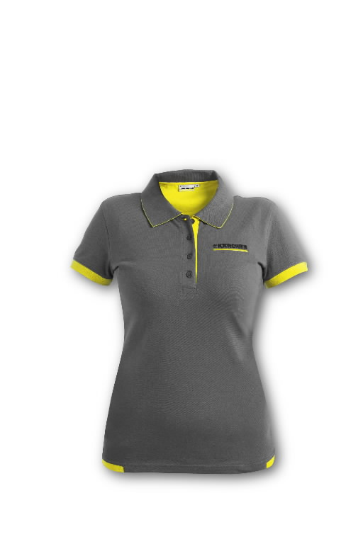 Polo Shirt Anthracite S, Kärcher