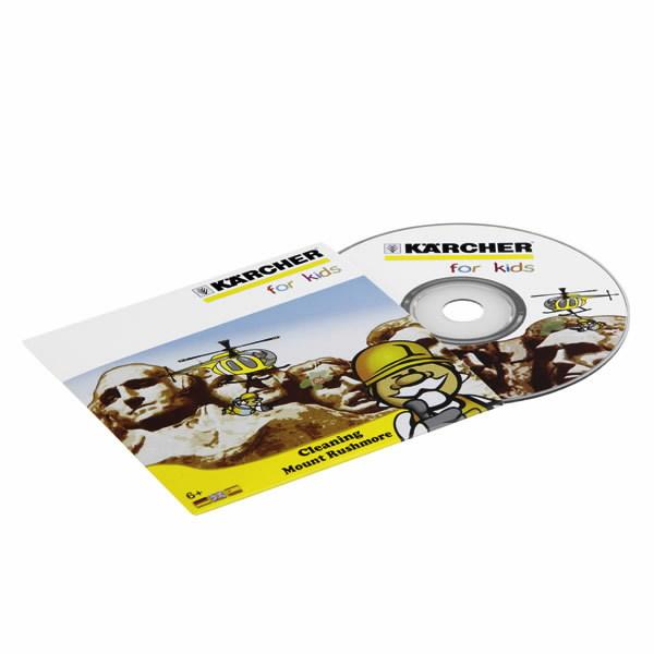 CD PC game Kaercher for Kids, Kärcher