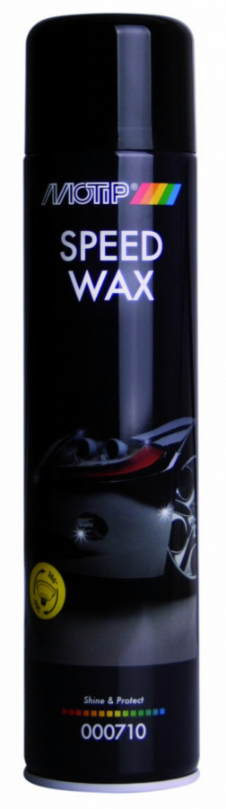 Kiirvaha Speed Wax 600ml aerosool BL, Motip
