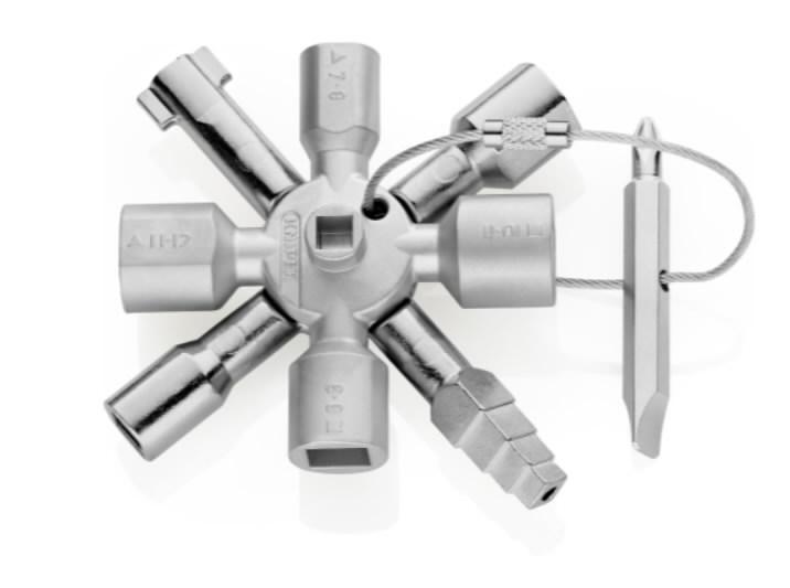 KNIPEX TwinKey kõikidele standartsetele kilbikappidele, Knipex