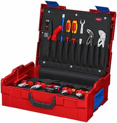 KNIPEX L-Boxx® Electric 65-part, Knipex