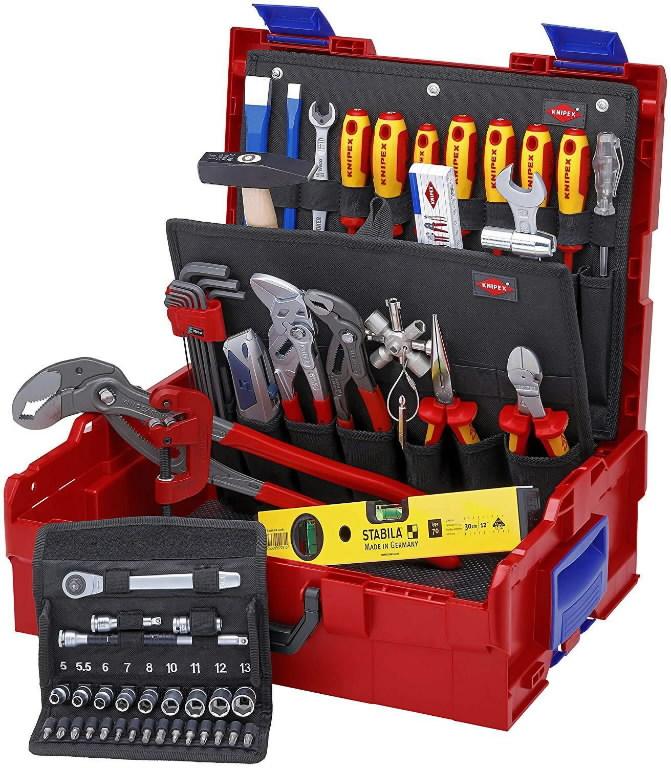 KNIPEX L-Boxx® Plumbing 52 parts, Knipex