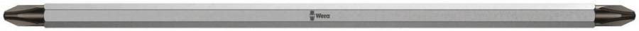 otsak kahepoolne PH2-PZ2 83 VARIO 175mm, Wera