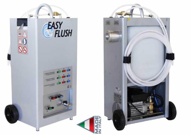Läbipesu komplekt - puhastusainega Easyflush, , Spin