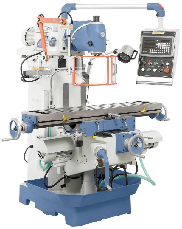 Metal Milling machine UWF 110, Bernardo