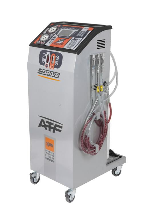 Aut.käigukasti hooldus/õlivahetus seade ATF 5000, Spin