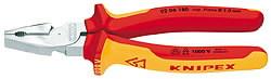 Replės kombinuotos, VDE, jėgos, 200 mm, Knipex