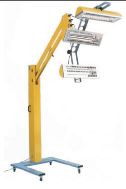 Infrapuna värvikuivatuslamp W3900, Intertech