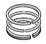 Žiedų rinkinys, vienam stūmokliui, standartas, JCB