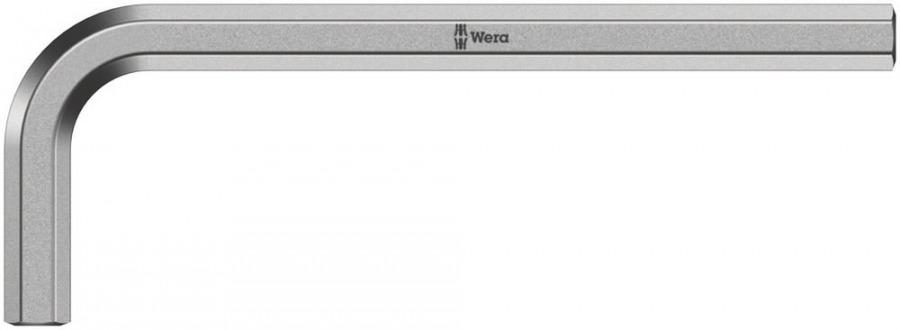 Raktas HEX8 950, L-forma, trumpas, Wera