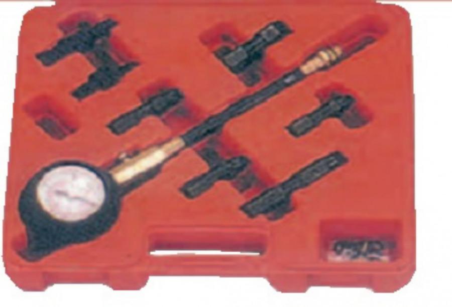 Kompresijos testeris  varikliams, 0-20 bar., Spin