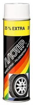 Universaalvärv/veljevärv WHEEL SPRAY must 500ml aerosool, Motip