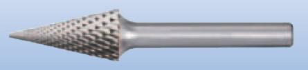 Karbidinė freza SKM 10x20/6 mm Z3 PLUS, Pferd