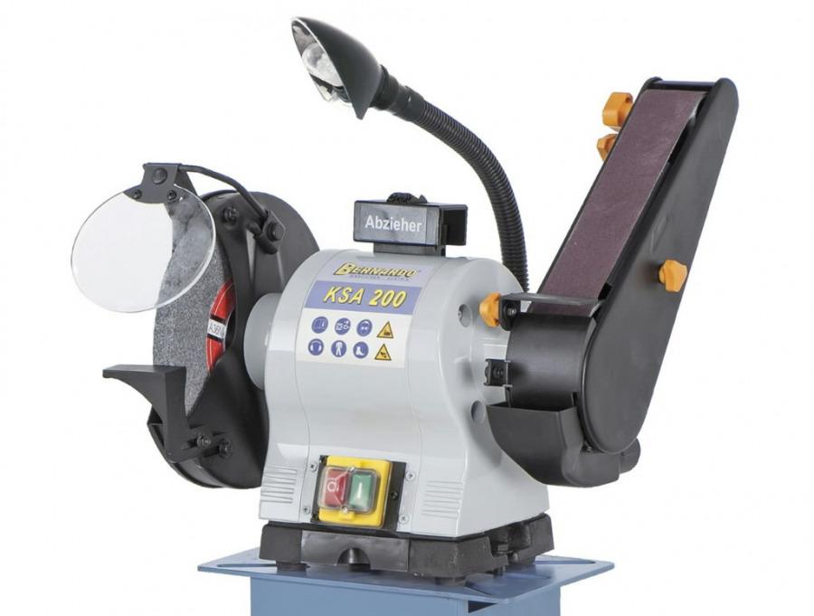 belt grinding machine KSA 200, Bernardo