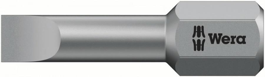 otsak SL 0,6x4,5x25 800/1TZ metallile, Wera