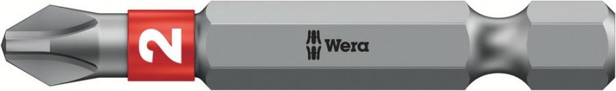 otsak PH2/50 851/4BTZ metallile, Wera