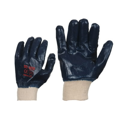 Nitrile gloves entirely knitted 10, Other